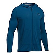Mens Under Armour Threadborne Full Zip Half-Zips & Hoodies Technical Tops