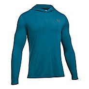 Mens Under Armour Threadborne Half-Zips & Hoodies Technical Tops