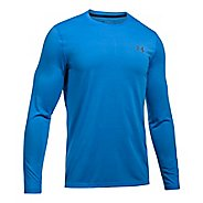 Mens Under Armour Threadborne Long Sleeve Technical Tops