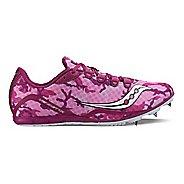 Womens Saucony Vendetta Racing Shoe - Pink/Purple 11