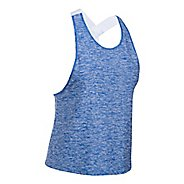 Womens Under Armour Sport Swing Sleeveless & Tank Tops Technical Tops - Blue Lapis S