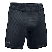 Mens Under Armour HeatGear CoolSwitch 2C Compression & Fitted Shorts - Anthracite/Grey L