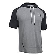 Mens Under Armour Sportstyle Short Sleeve Hoodie Short Sleeve Technical Tops