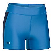 Womens Under Armour Fly By Compression Shorty Compression & Fitted Shorts