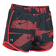 Womens Under Armour Fly By Printed Unlined Shorts