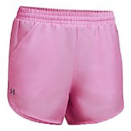 Womens Under Armour Fly By Unlined Shorts - Icelandic Rose XL