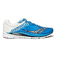 Mens Saucony Fastwitch 8 Running Shoe - Blue/White 10.5