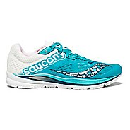 Womens Saucony Fastwitch 8 Running Shoe - Teal/White 6