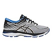 Mens ASICS GEL-Cumulus 19 Running Shoe - Grey/Black 9.5