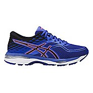 Womens ASICS GEL-Cumulus 19 Running Shoe - Blue/Orange 6.5