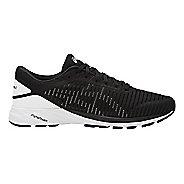 Mens ASICS DynaFlyte 2 Running Shoe - Black/White 11