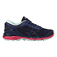Womens ASICS GEL-Kayano 24 Lite-Show Running Shoe - Indigo/Pink 6