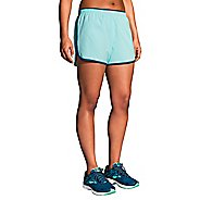 Womens Brooks Go-To 3-inch Lined Shorts - Pool/Ocean L
