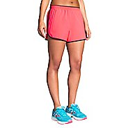 Womens Brooks Go-To 3-inch Lined Shorts - Black L