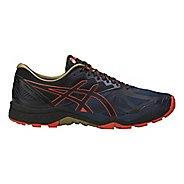 Mens ASICS GEL-FujiTrabuco 6 Trail Running Shoe - Blue/Orange 13