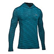 Mens Under Armour Threadborne Seamless Hoody Half-Zips & Hoodies Technical Tops