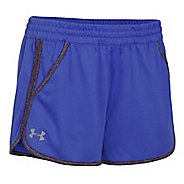 Womens Under Armour Twist Tech 2.0 Unlined Shorts - Constellation Purple S
