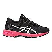 Kids ASICS GT-1000 6 Running Shoe - Dark Grey/Pink 5Y