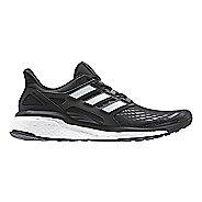 Mens adidas Energy Boost Running Shoe - Black/White 10