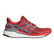 Mens adidas Energy Boost Running Shoe - Red/Red/Grey 10.5