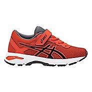 Kids ASICS GT-1000 6 Running Shoe - Red/Black 3Y