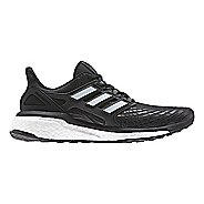 Womens adidas Energy Boost Running Shoe - Black/White 10.5