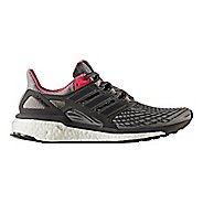 Womens adidas Energy Boost Running Shoe - Grey/Pink 10.5