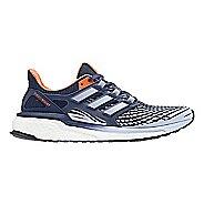 Womens adidas Energy Boost Running Shoe - Indigo/Orange 6.5