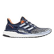 Womens adidas Energy Boost Running Shoe - Indigo/Orange 7