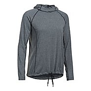 Womens Under Armour Threadborne Train Hood Twist Half-Zips & Hoodies Technical Tops