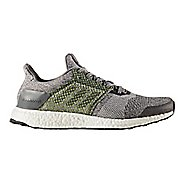 Mens adidas Ultra Boost ST Running Shoe - Grey/Silver 8.5