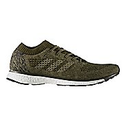Mens adidas adizero Primeknit LTD Running Shoe - Olive/Black 12