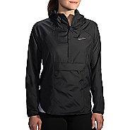 Womens Brooks Cascadia Shell Running Jackets - Black XS