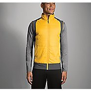 Mens Brooks Cascadia Thermal Vest Jackets - Finch/Asphalt XL
