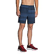"Mens Brooks Rush 7"" Printed Lined Shorts"