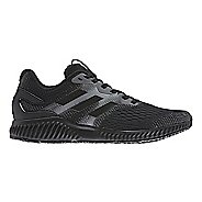 Mens adidas AeroBounce Running Shoe - Black/Black 12.5