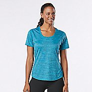 Womens R-Gear Training Day Short Sleeve Technical Tops - Marina/Midnight Blue M