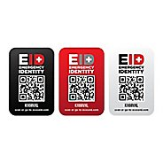 Emergency ID Stickers 3 pack Safety