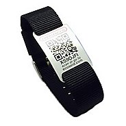 Emergency ID Band Nylon/Steel Buckle Safety