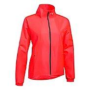 Womens Under Armour International Cold Weather Jackets - Marathon Red M