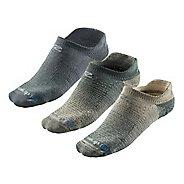 R-Gear Super Breathable Thin Cushion Pattern No Show 3 pack Socks - Foliage Green/Dessert ...