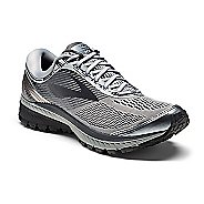 Mens Brooks Ghost 10 Running Shoe - Grey/Black 8.5