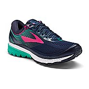 Womens Brooks Ghost 10 Running Shoe - Navy/Teal 6