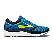 Mens Brooks Revel Running Shoe - Blue/Lime 7