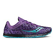 Womens Saucony Endorphin Racer 2 Racing Shoe - Purple Teal 10.5