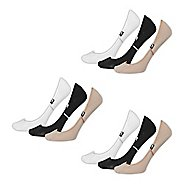 Womens New Balance Lifestyle No Show Liner 9 Pack Socks - Assorted M