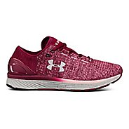 Womens Under Armour Charged Bandit 3 Running Shoe - Black Currant/Pink 8.5