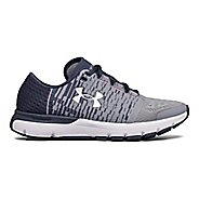 Womens Under Armour Speedform Gemini 3 GR Running Shoe - Steel/Grey 5