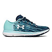 Womens Under Armour Speedform Velociti GR Running Shoe - Ink/Blue 8