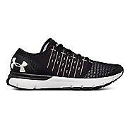 Mens Under Armour Speedform Europa Running Shoe - Black/Steel/Gold 11